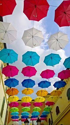 Ombrelli a colori
