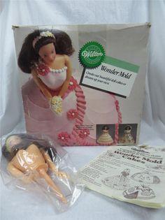 Wilton Wonder Mold Pan 2105-565 1987 Doll Cake Wedding Basket Over the Hill | eBay $26.95