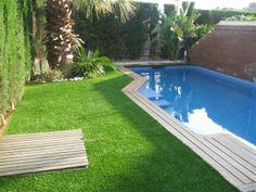 swimming pool artificial grass   - amazonartificialgrass.ie
