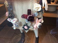 Wool flowers by #stefanel