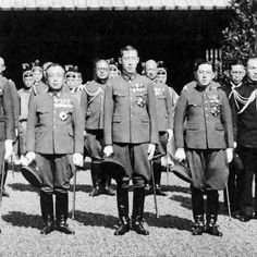 From Wikiwand: Crown Prince Lieutenant General Yi Un, Princes Captain Yi Geon and Captain Yi Wu in 1938 Japanese Mythology, Lieutenant General, Korean Peninsula, Japanese History, Korean War, Armed Forces, World War Ii, Wwii, The Past