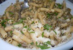 Tortiglioni ai carciofi #ricettedisardegna #recipe #sardinia