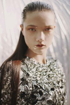 """""""The Girl From Outer Space"""" Yumi Lambert photographed by Alexandra Sophie for Numéro #159"""