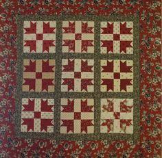 Jo Morton Designs - Jo's Little Women club 11 - Raspberry Swirl (still needs quilted), love it!