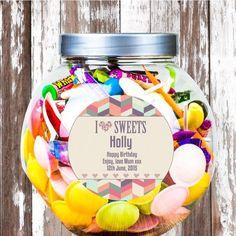 I love sweets jar 650ml