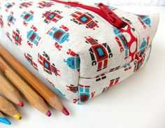 Boxy pencil case from Very Berry Handmade