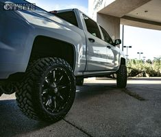 195 11 2014 silverado 1500 chevrolet suspension lift 6 fuel nutz black slightly aggressive