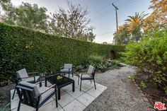 Soak in serenity in the private backyard that is your own secret garden. Mls Listings, Backyard, Patio, Los Angeles County, West Hollywood, Property For Sale, Serenity, Real Estate, California