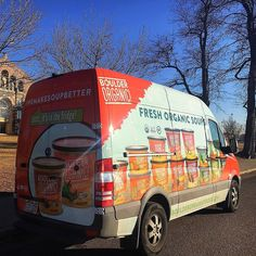 Hey #Colorado! Have you seen our #soup van rollin' through your town? If you do snap a photo and tag us in it! #soupspotting #boulderorganic #wemakesoupbetter #glutenfree