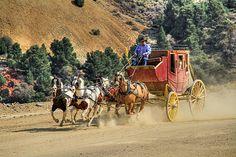 Wild West Ride 2 by Donna Kennedy Cowgirl And Horse, Cowboy Art, Western Cowboy, Ride 2, Wagon Trails, Postcard Album, Wild West, Good Old Times, West Art
