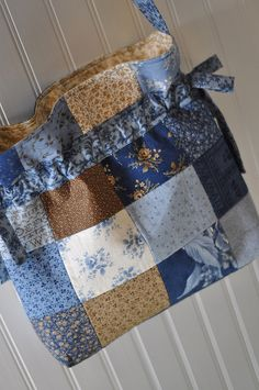 A nice way to use up those fabric scraps