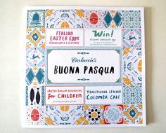 Debbie Powell #illustration #menu #food #pattern #pasta #italion #carluccios #buonapasqua #restaurant #eatingout #food #finedinning #yummy #pattern #tiles