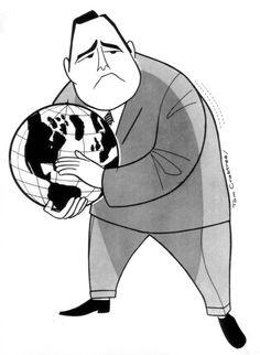 Jonathan Winters (1925-2013) | Illustrator: Tom Crabtree