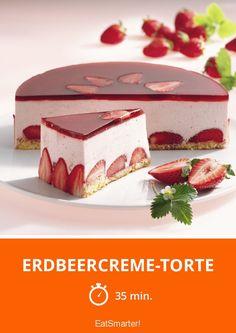 Erdbeercreme-Torte - das Lieblingsrezept aller Leser!