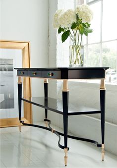 Join us and discover de best selection of luxury console table design inspirations at http://www.maisonvalentina.net/
