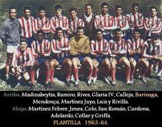 Plantilla Atletico de Madrid 1963/64