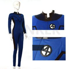The Fantastic Four Cosplay Team Suit Costumes