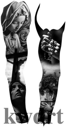 reduced by 50 percent , Chicano Art Tattoos, Body Art Tattoos, Hand Tattoos, Full Sleeve Tattoos, Tattoo Sleeve Designs, Christus Tattoo, Religious Tattoo Sleeves, Jesus Tattoo Design, Religion Tattoos