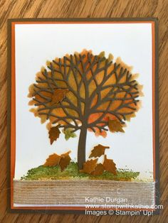 Stampin' Up! Beautiful Branches
