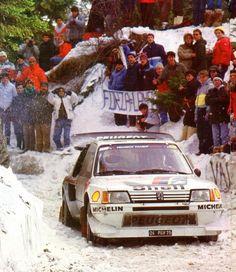 Salonen Monte Carlo 86, Peugeot 205 T16