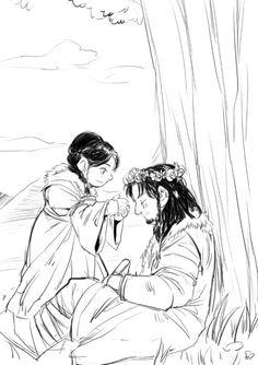 Dis and Thorin, so long ago in Erebor