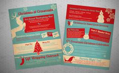 Christmas Events Flyer