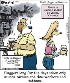 Pluggers:  I realize how old I am when I completely agree.