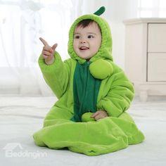 Green Pea Style Bodysuit  Baby Sleeping Bag
