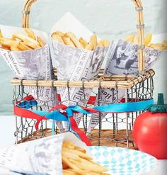 Village Fete Party Chip/ Food Cones are perfect for a Nautical Themed Hen Party London Theme Parties, British Themed Parties, British Party, London Party, Hens Party Themes, Summer Party Themes, Party Ideas, Fete Ideas, Village Fete
