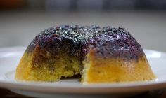"James Martin make a delicious blueberry steamed sponge pudding with homemade custard base on his grandmother's recipe on James Martin: Home Comforts. James says: ""This steamed pudding is comforting and so simple. What's more, it's finished with proper custard."" Related Posts"