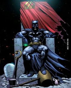 Because he is Batman