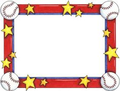 printable baseball bat border use the border in microsoft word or rh pinterest com