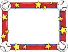 printable baseball bat border use the border in microsoft word or rh pinterest com basketball border clip art free