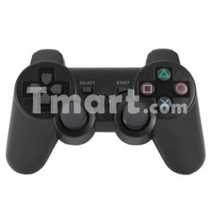 Wireless Bluetooth Controller for PS3 Black,$15.99