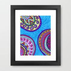 Botanica Framed Art Print by Erin Jordan - $38.00