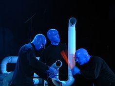 Blue man group Image: Collaboration, found on flickrcc.net