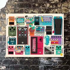 Image of Pedalboard of Doom by Eric Nyffeler Guitar Effects Pedals, Guitar Pedals, Guitar Rig, Guitar Players, Bass Guitars, Diy Pedalboard, Heavy Metal Guitar, Types Of Guitar, Indie Movies