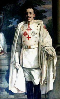 Alfonso XIII, King of Spain Military Art, Military Fashion, Military Style, Franz Josef I, Mens Garb, Royal Monarchy, Spanish Royalty, Spanish Royal Family, Scandinavian Countries