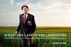 The Last of the Liberators: portrait series of World War II Veterans by Robin Savage