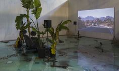 Installation view,Laure Prouvost - A Way To Leak, Lick, Leek - Fahrenheit