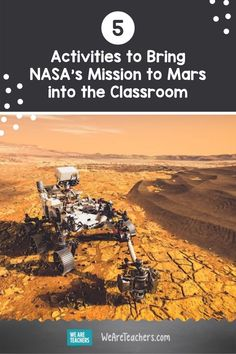 Learn about the rover and check out these 5 Mission to Mars activities for the classroom to educate students on this historic event! Check these five activities out now! Planets Activities, Science Activities, Classroom Newsletter, Nasa Missions, Mission To Mars, Class Pictures, Life On Mars, Science Lessons, Teaching Tips
