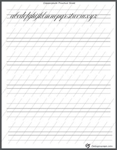 Free Printable Calligraphy Practice Sheets That are Witty Calligraphy Paper, Calligraphy Tutorial, Copperplate Calligraphy, Calligraphy Handwriting, Learn Calligraphy, Lettering Tutorial, Calligraphy Templates, Calligraphy Doodles, Islamic Calligraphy