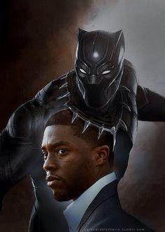 Chadwick Boseman - Black Panther (Capt. America : Civil War)