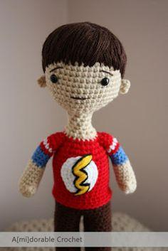 A[mi]dorable Crochet: AMIGURUMI...pattern for Sheldon