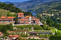 Aerial view of Six Senses Douro Valley, Portugal