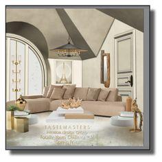 """Favorite Home!"" by eco-art ❤ liked on Polyvore featuring interior, interiors, interior design, home, home decor, interior decorating, Modloft, Oliver Gal Artist Co., Melanie Abrantes and Minimal"