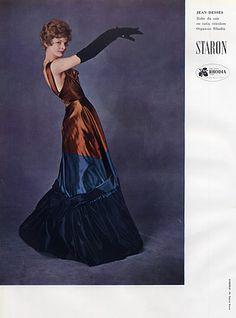 Jean Dessès 1959 Evening Gown, Photo Sabine Weiss