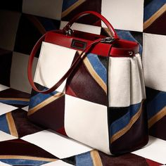 Color block your way to a statement winter wardrobe. Fendi