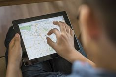 Here's How to Enable Offline Maps in the Google Maps App Google Maps shown on an iPad on June 9, 2014 in Berlin, Germany.