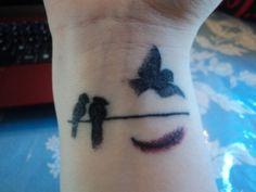 tattoo idea, bird tattoos, tini ink, art, wrist tattoos, birds